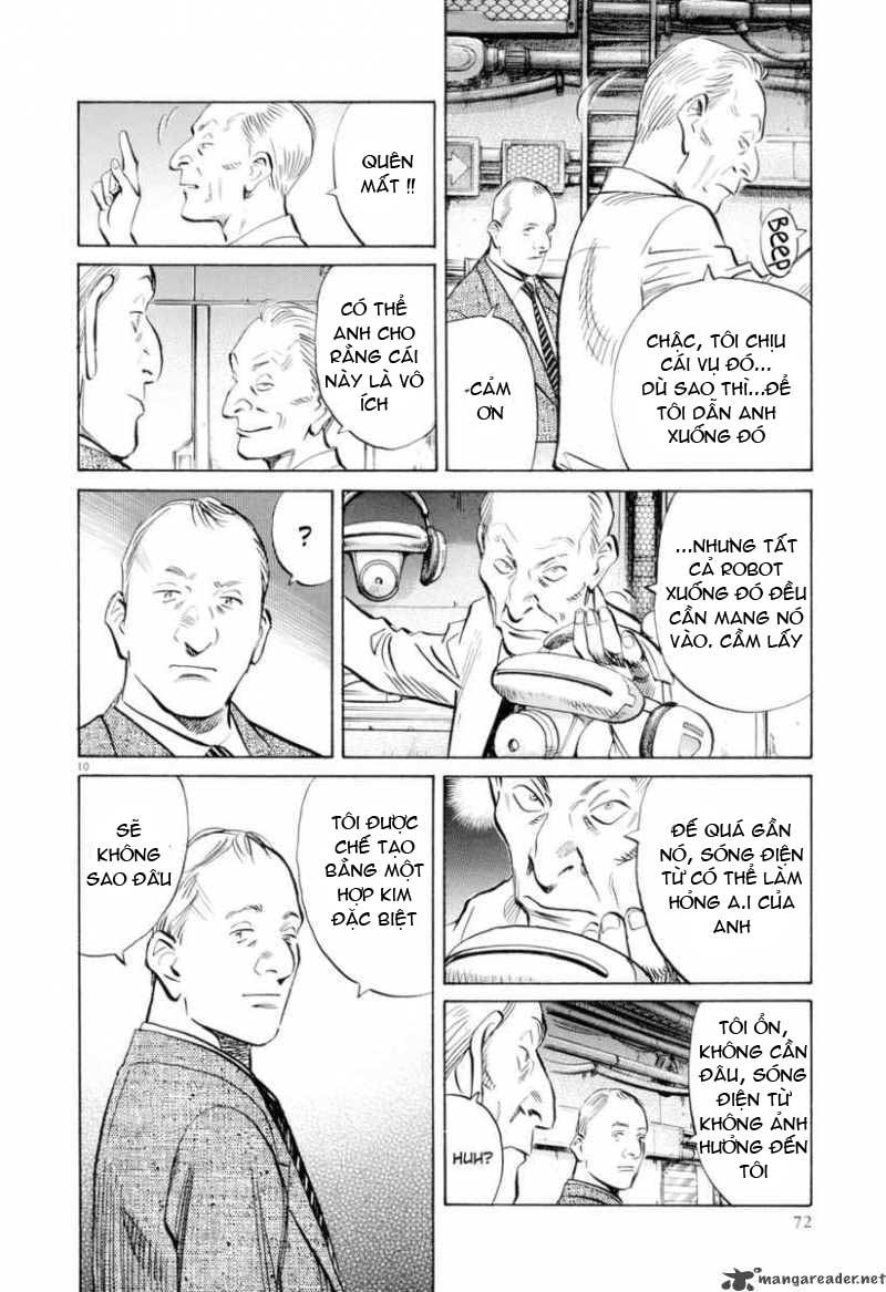 Pluto chapter 3 trang 11