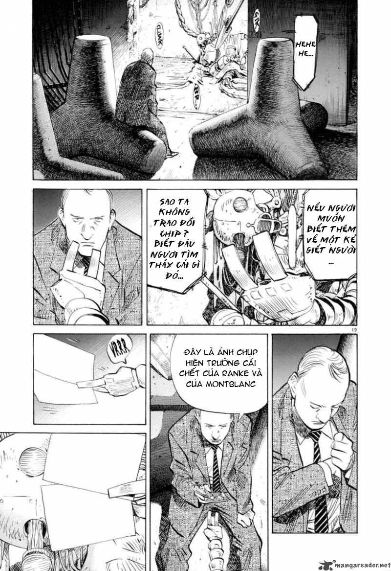 Pluto chapter 3 trang 20