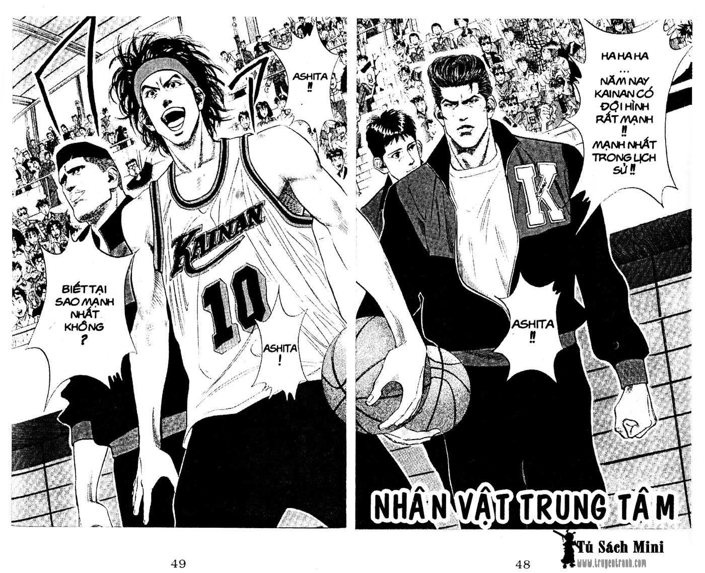 Slam Dunk chap 100 trang 2