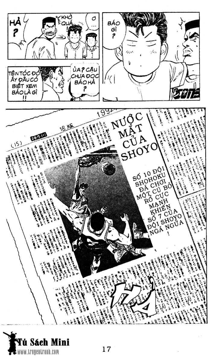 Slam Dunk chap 98 trang 11