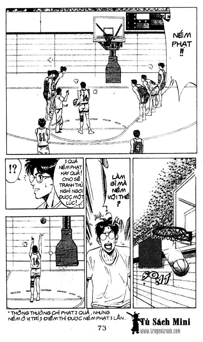 Slam Dunk chap 94 trang 2