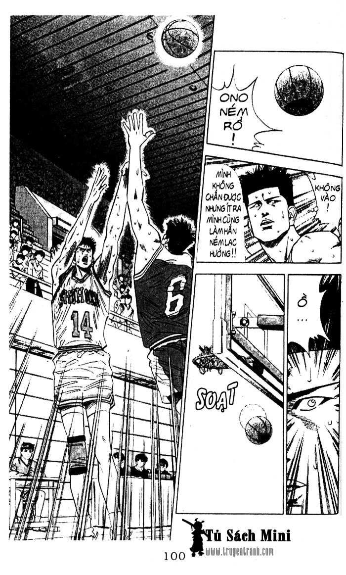 Slam Dunk chap 95 trang 9