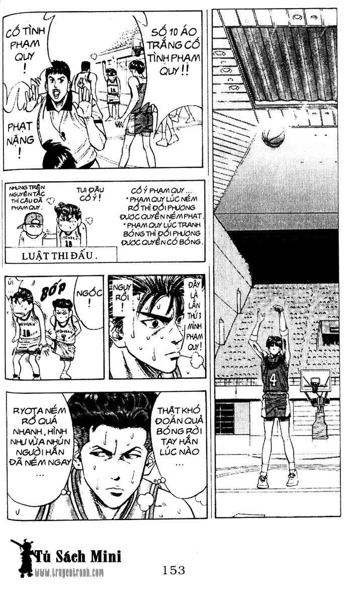 Slam Dunk chap 90 trang 12