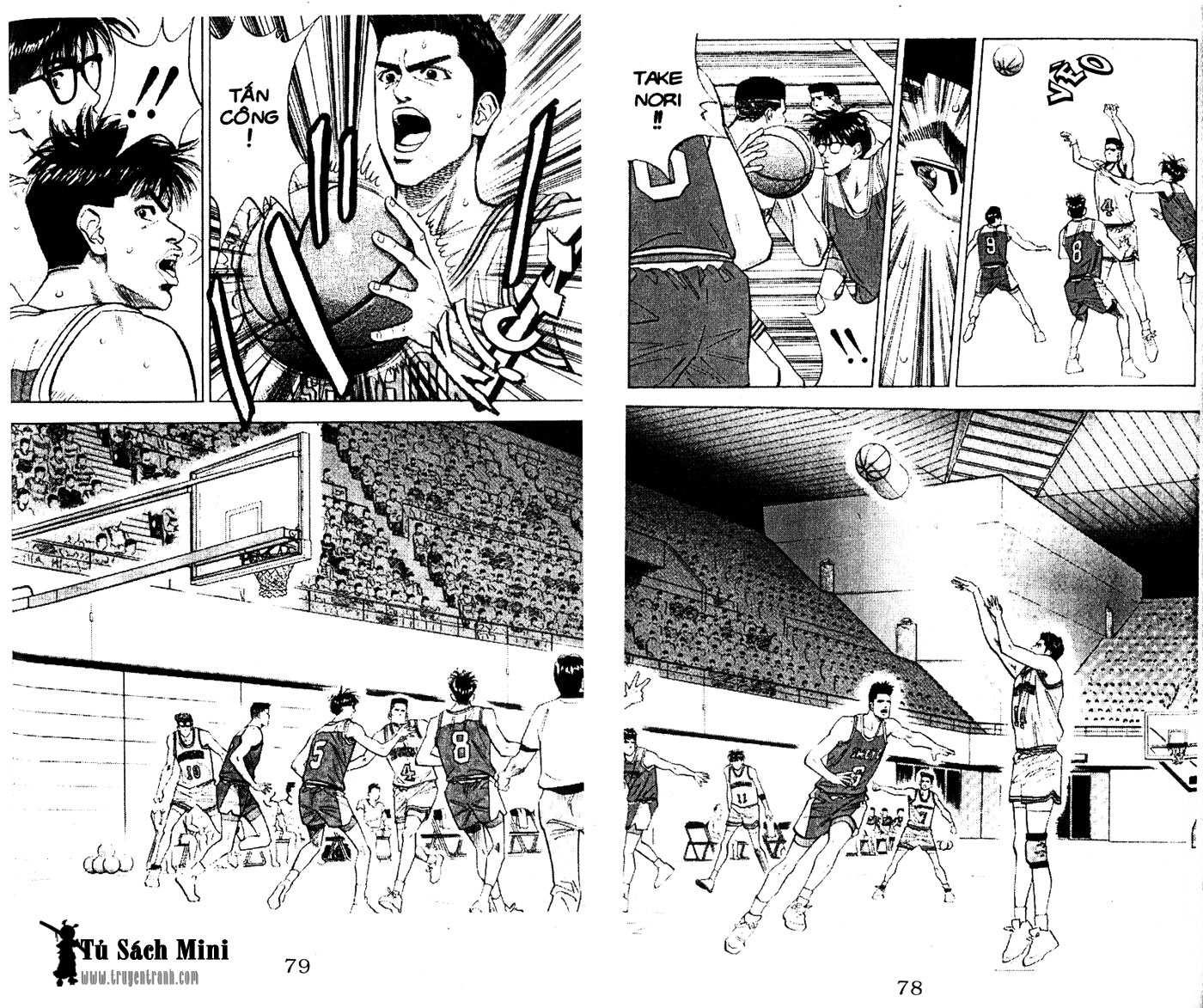 Slam Dunk chap 86 trang 17