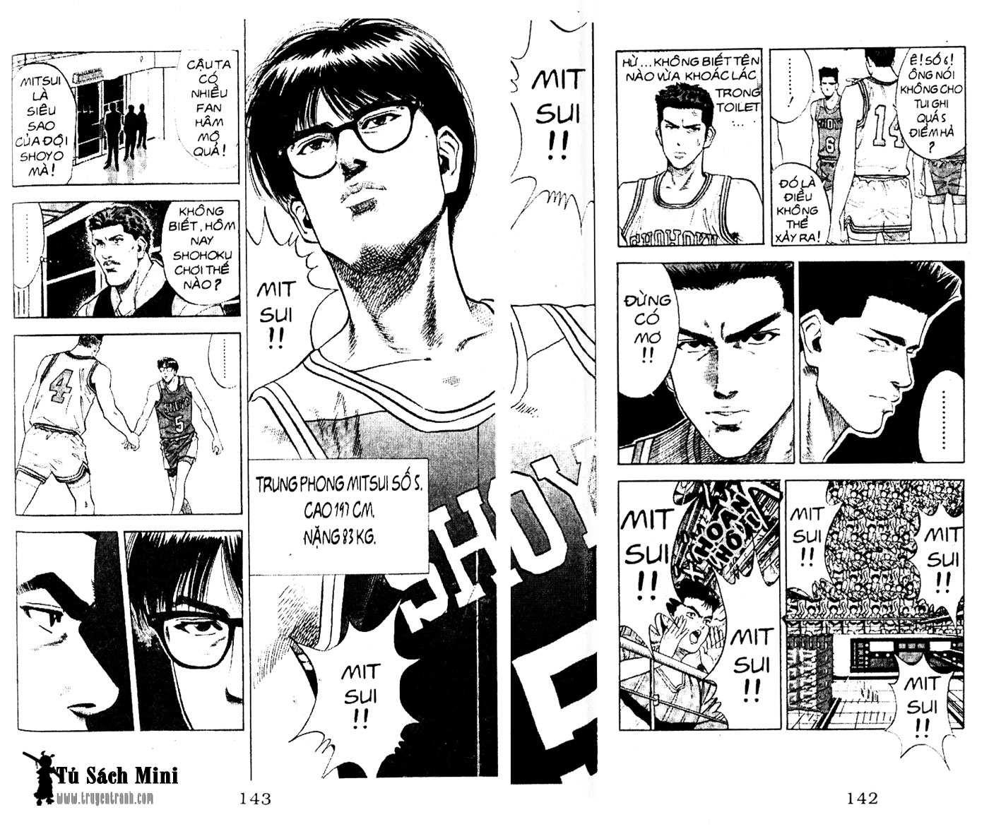 Slam Dunk chap 82 trang 10