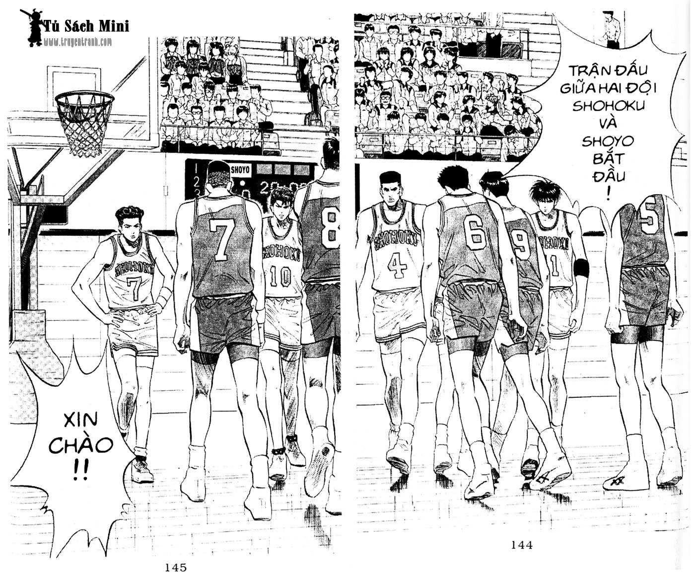 Slam Dunk chap 82 trang 11