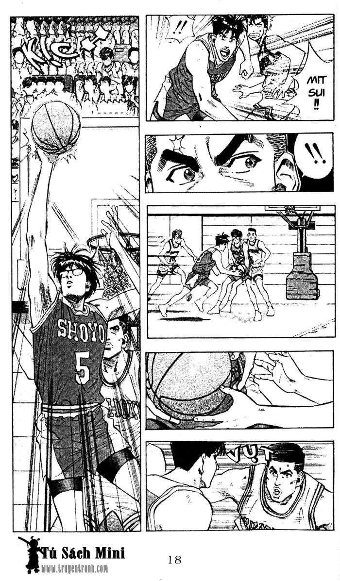 Slam Dunk chap 83 trang 17
