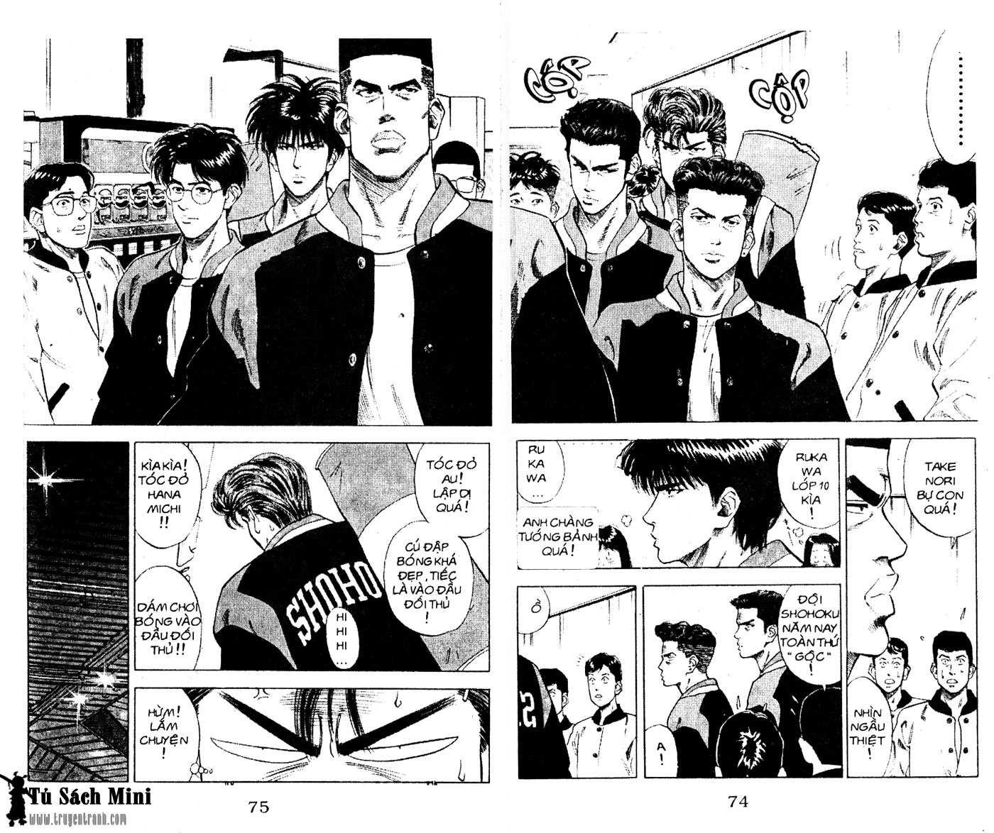 Slam Dunk chap 79 trang 7