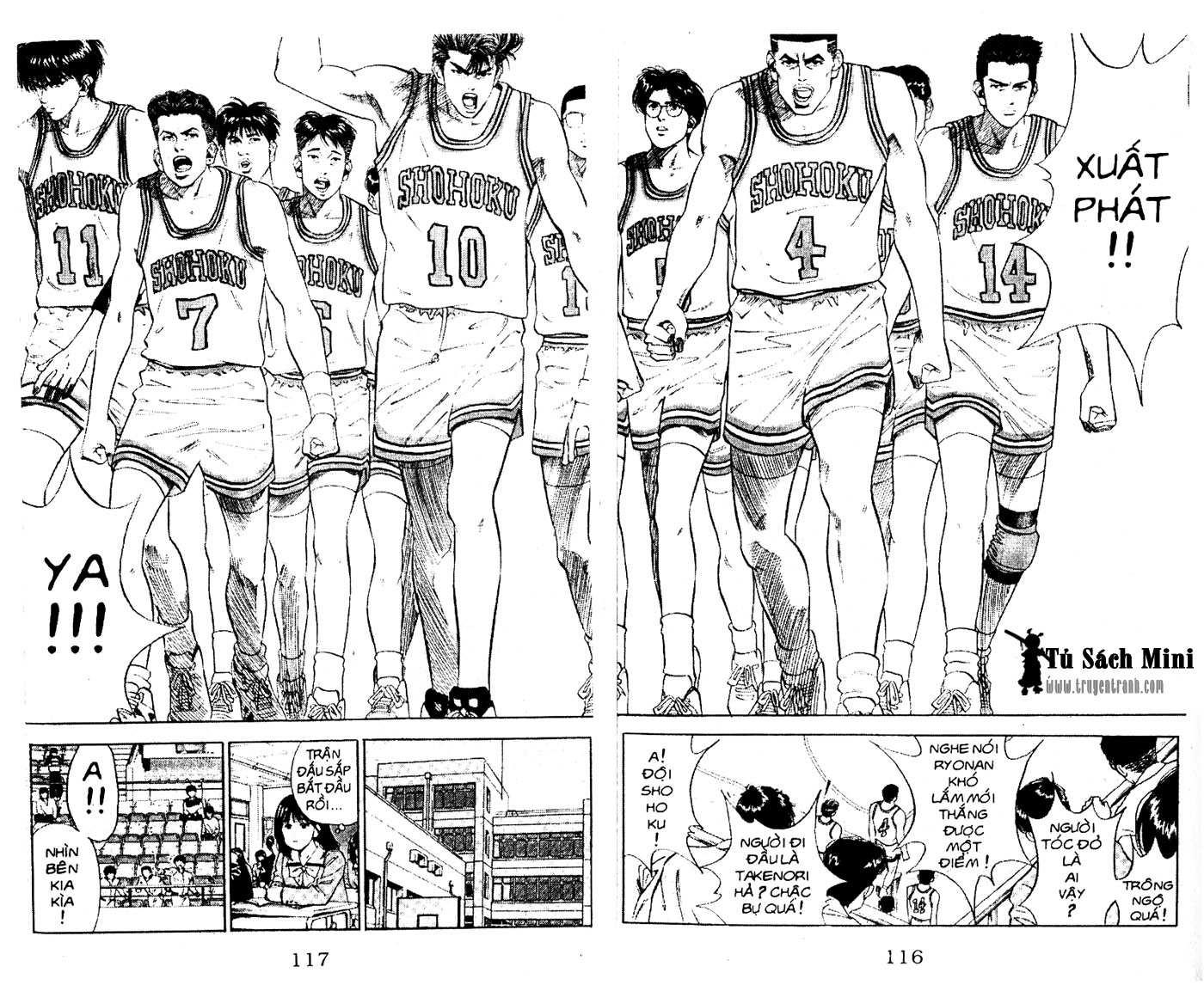 Slam Dunk chap 73 trang 16