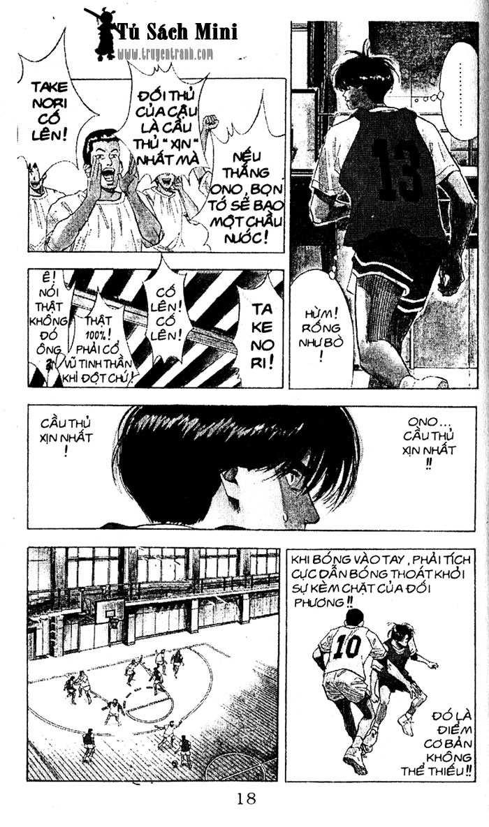 Slam Dunk chap 68 trang 14