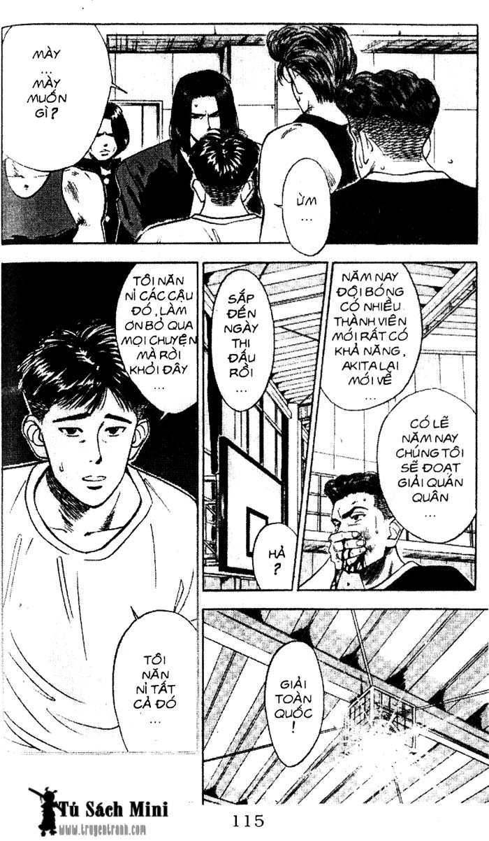 Slam Dunk chap 58 trang 8