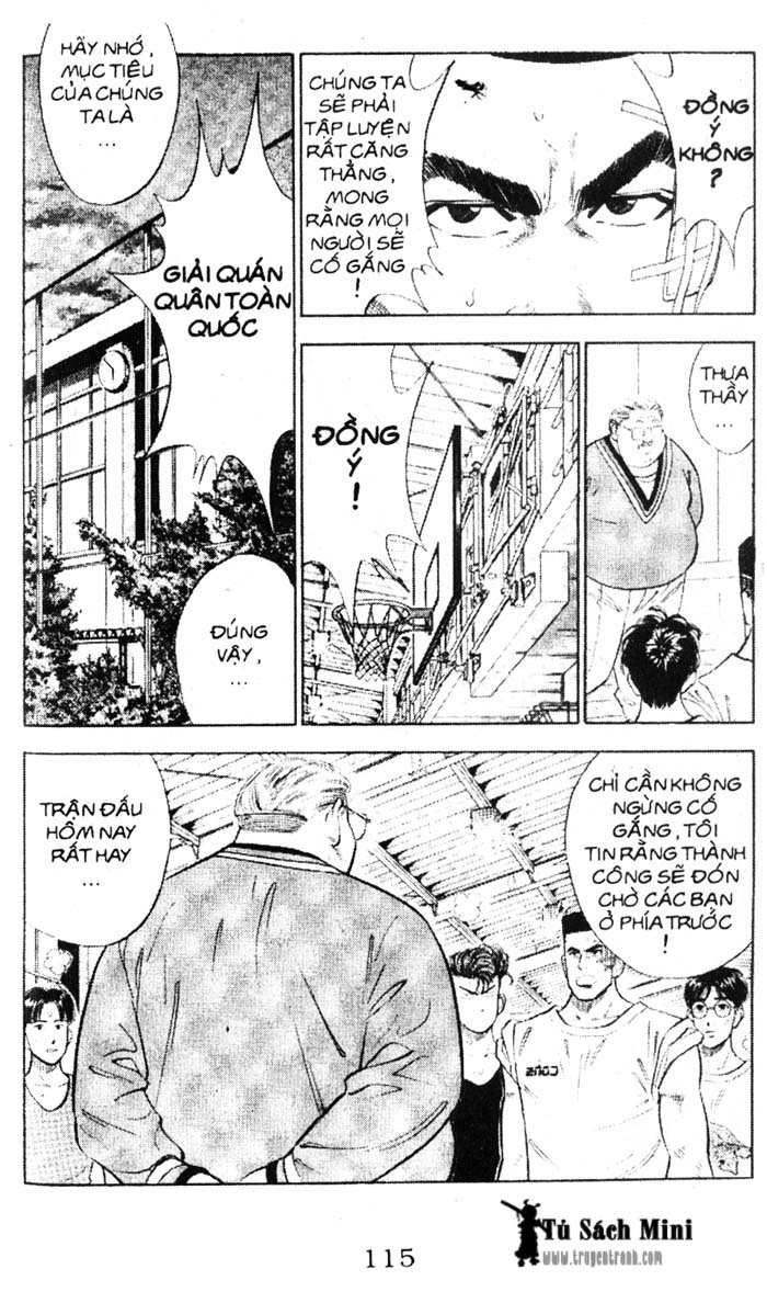 Slam Dunk chap 50 trang 14
