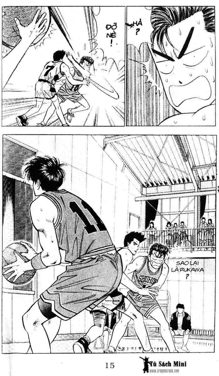 Slam Dunk chap 45 trang 15