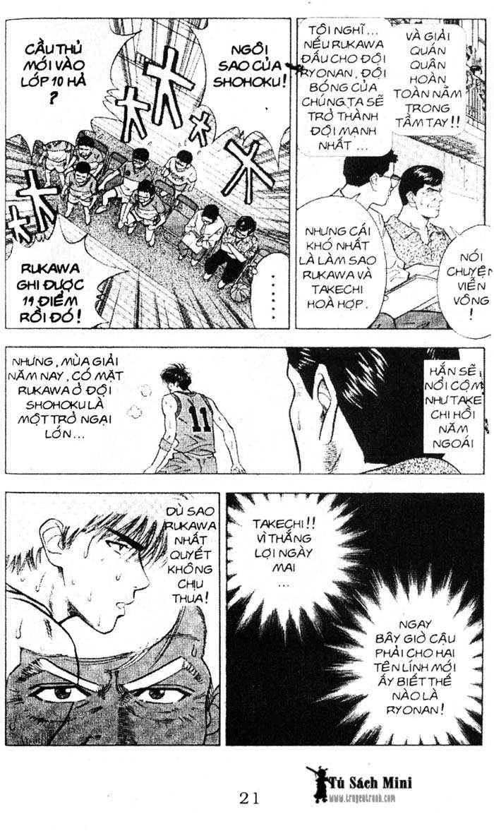 Slam Dunk chap 38 trang 4