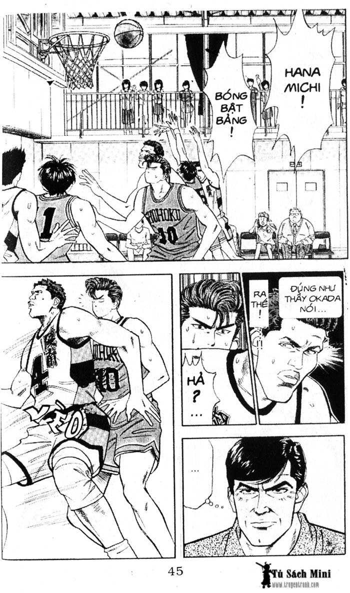 Slam Dunk chap 39 trang 8
