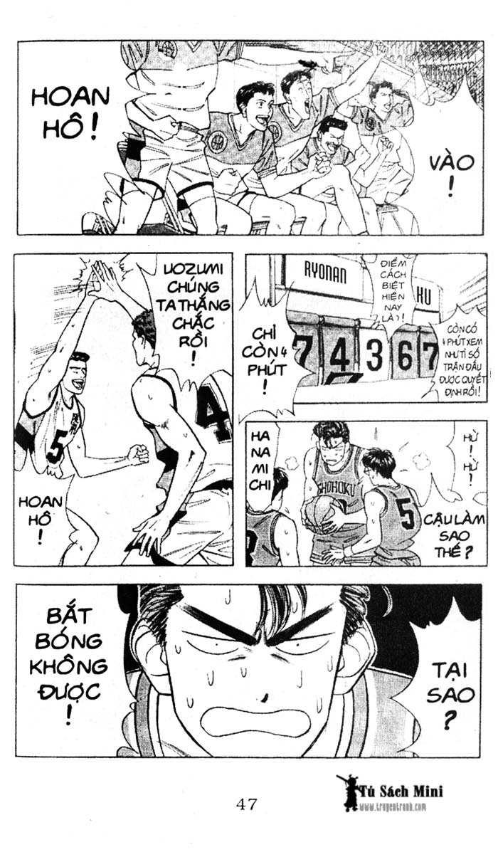 Slam Dunk chap 39 trang 10