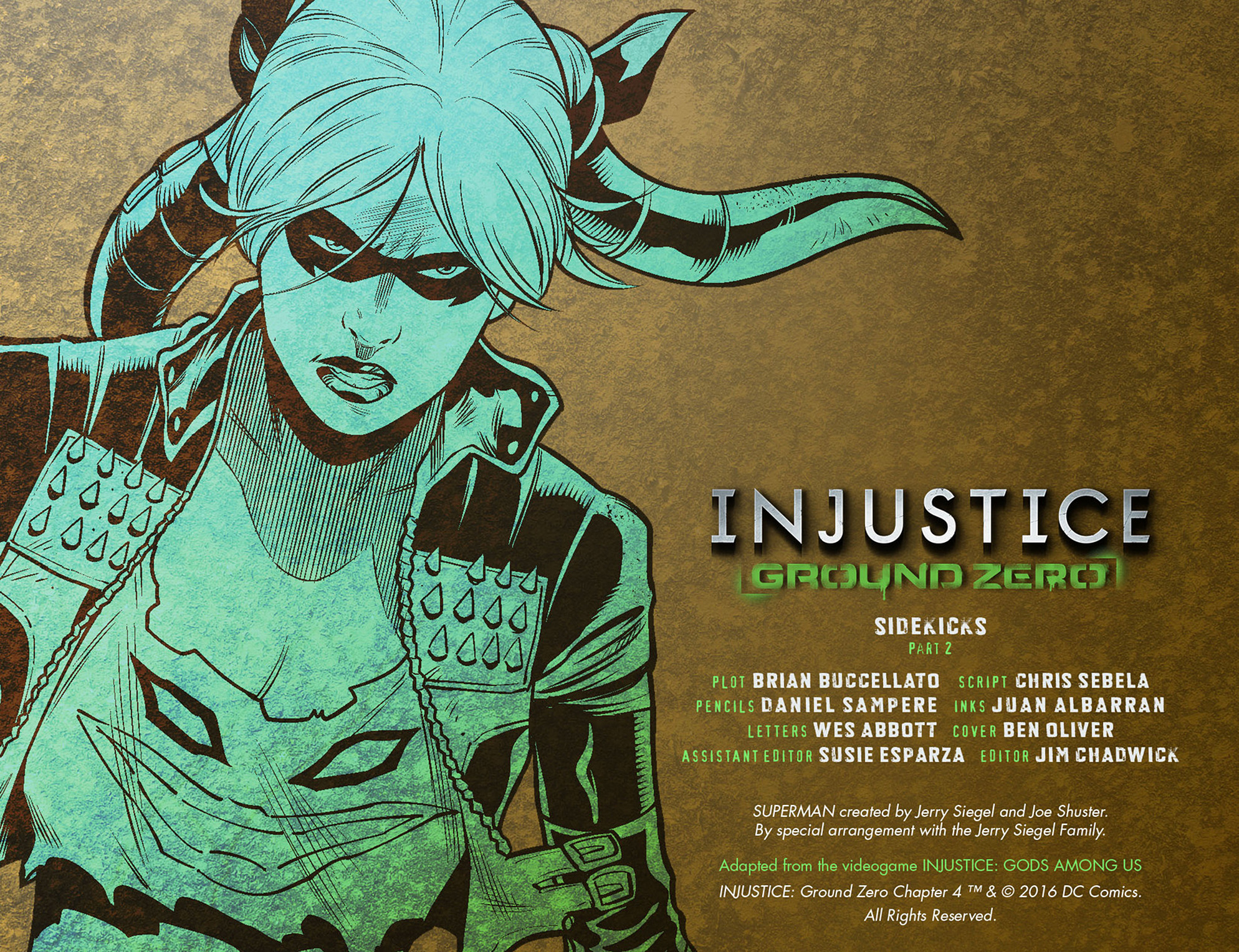 Read online Injustice: Ground Zero comic -  Issue #4 - 3