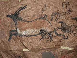 Poohsticks Cave Painting