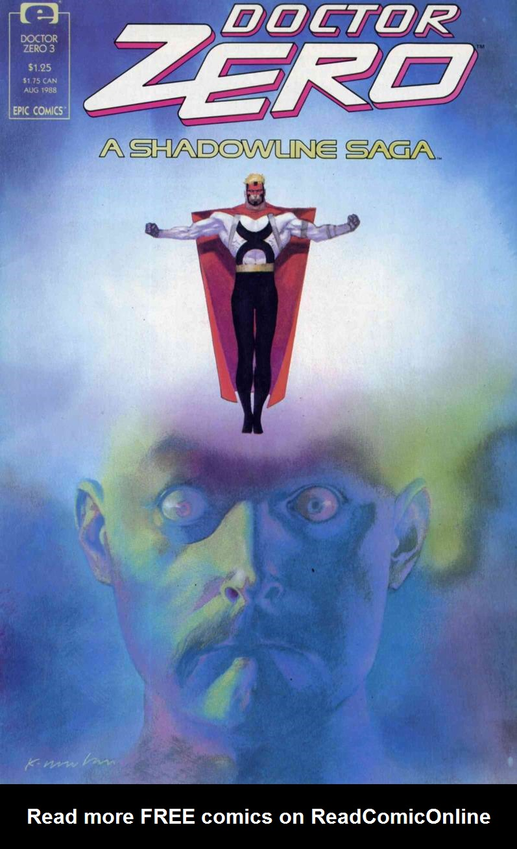 Read online Doctor Zero comic -  Issue #3 - 1