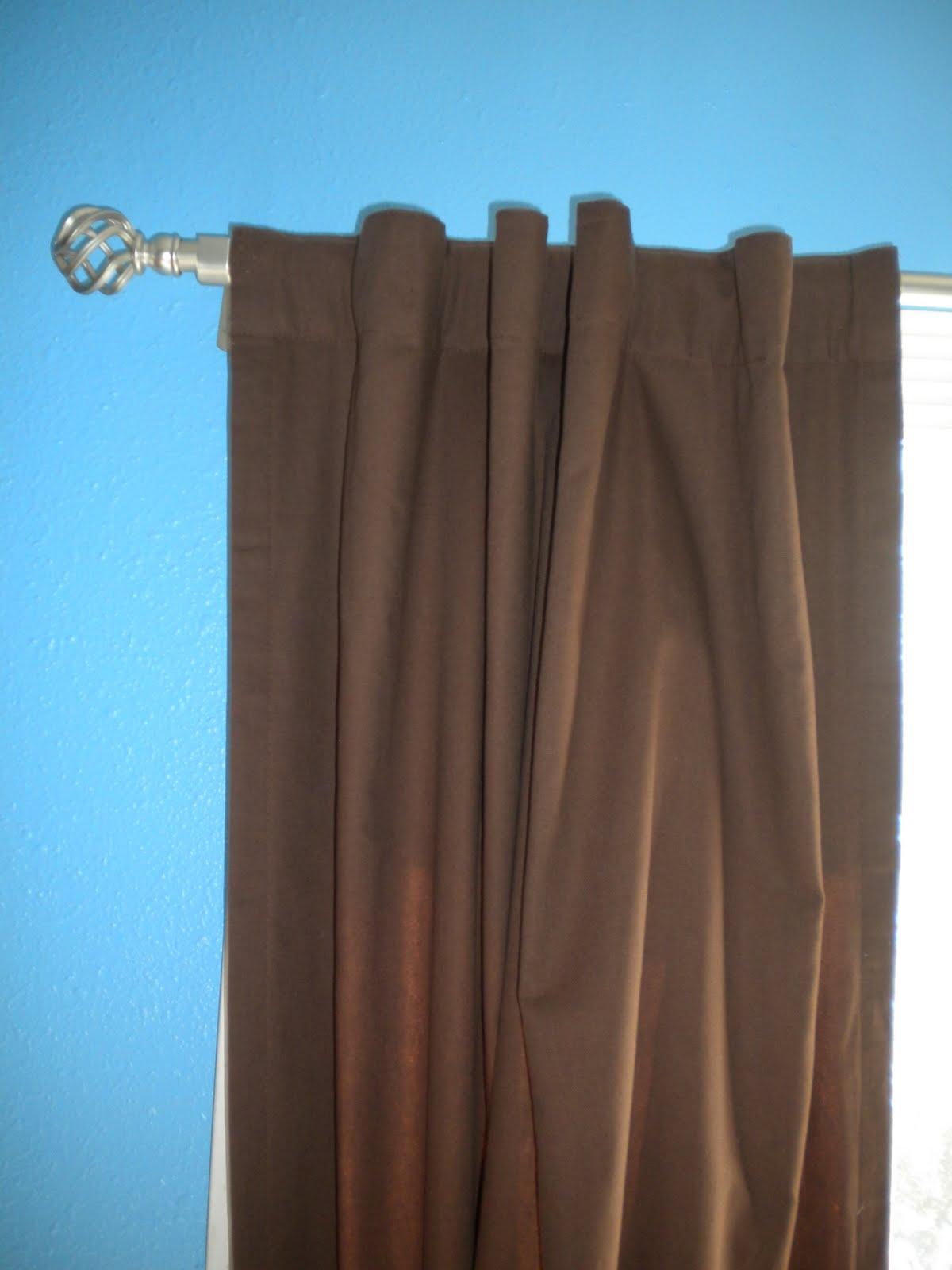 Diy wednesday revamp rod pocket curtains