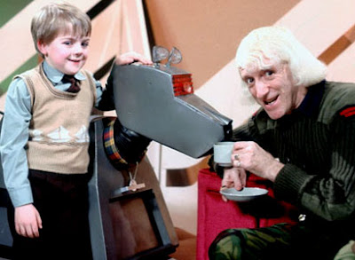 Jim fixing it for a kid to have tea with K9 from Doctor Who