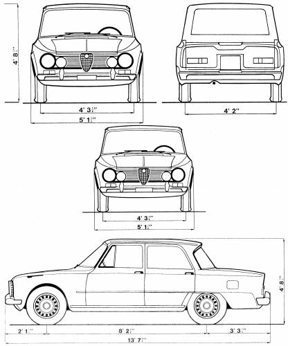 AUTOMOBILISSMOSRBIJA: ALFA ROMEO GULIA1962-1978