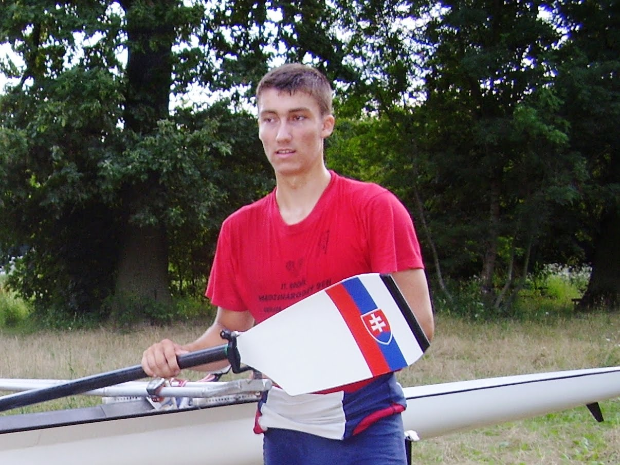 remigatio czech sculler andre redr wants medal for slovakia