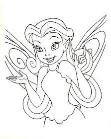 transmissionpress: free printable disney fairies coloring ...