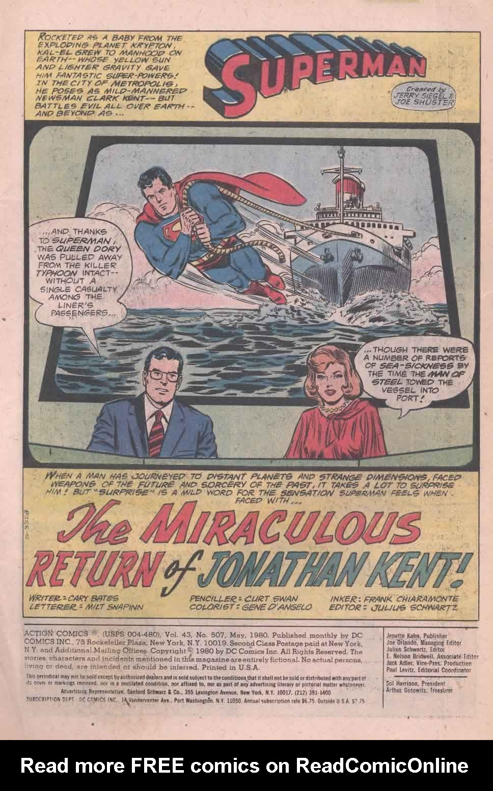 Read online Action Comics (1938) comic -  Issue #507 - 2
