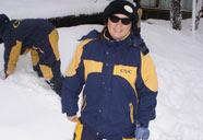 Neve até os joelhos em Bariloche