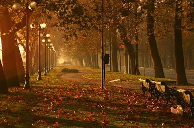 Praça em Santiago do Chile
