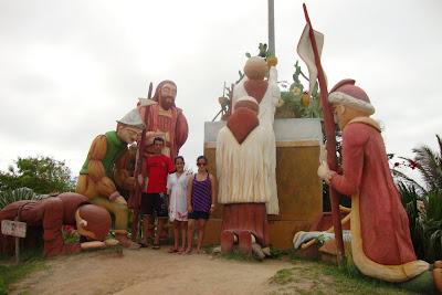 Esculturas da Rota do Descobrimento - Porto Seguro - BA