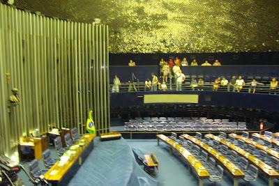 Visita ao Congresso Nacional em Brasília