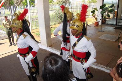 Guarda do Palácio da Alvorada, em Brasília - DF