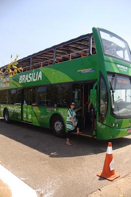 Ônibus turístico em Brasília, DF