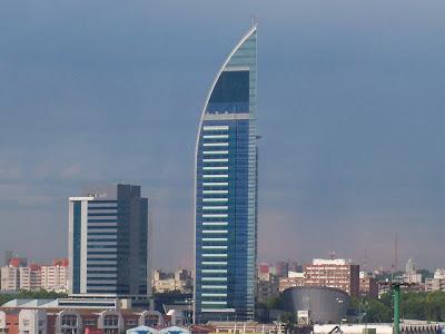 O antigo e o moderno em Montevidéu - Uruguai