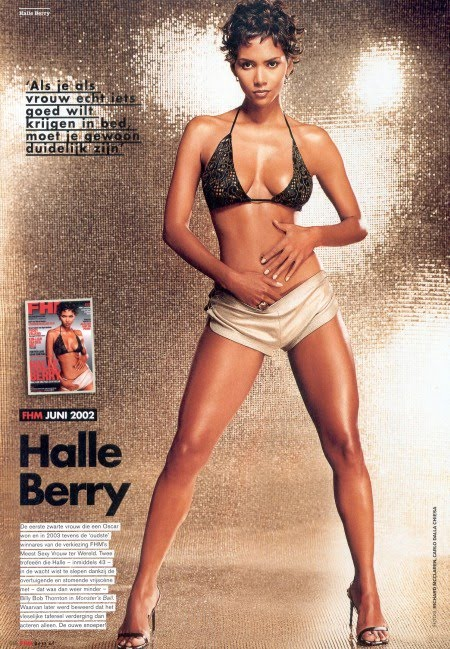 Sexy Halle Berry In Fhm Netherlands Bikini Hot Girls