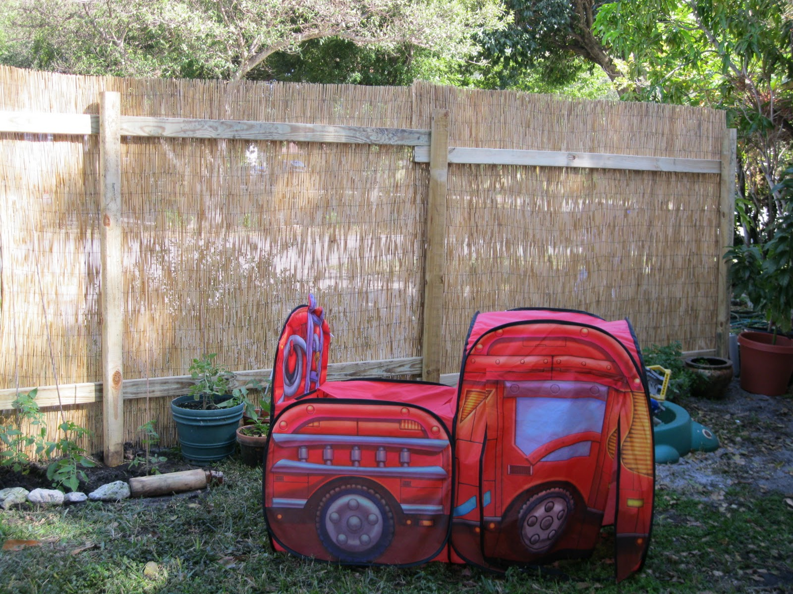 Backyard X-Scapes Reed Fence Review | Frugality Is Free