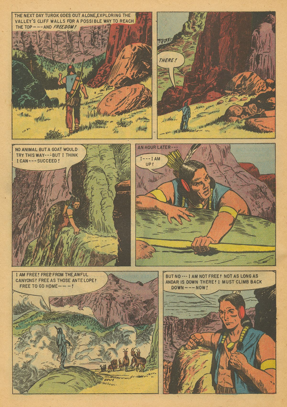Read online Turok, Son of Stone comic -  Issue #8 - 32
