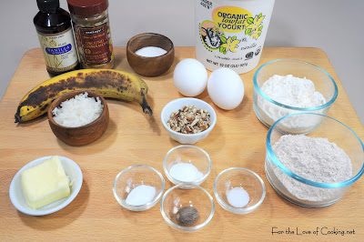 Banana Coconut Pecan Pancakes