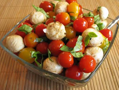 Tomato, Mozzarella and Basil Salad