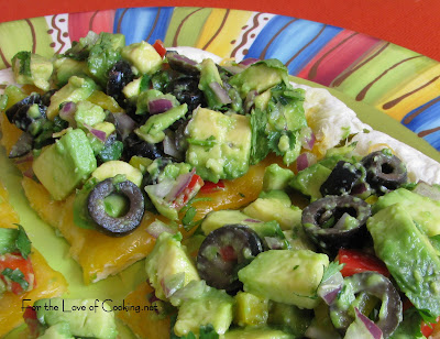Avocado and Olive Quesadillas