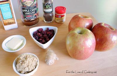 Spiced Pork Chops with Apple Chutney