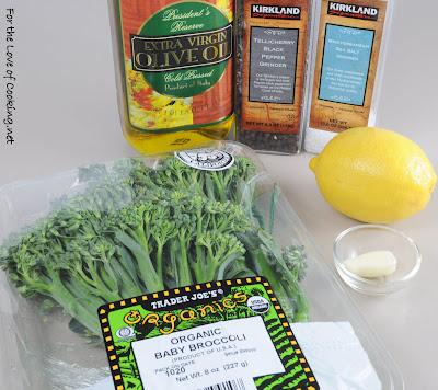 Lemon and Garlic Broccolini