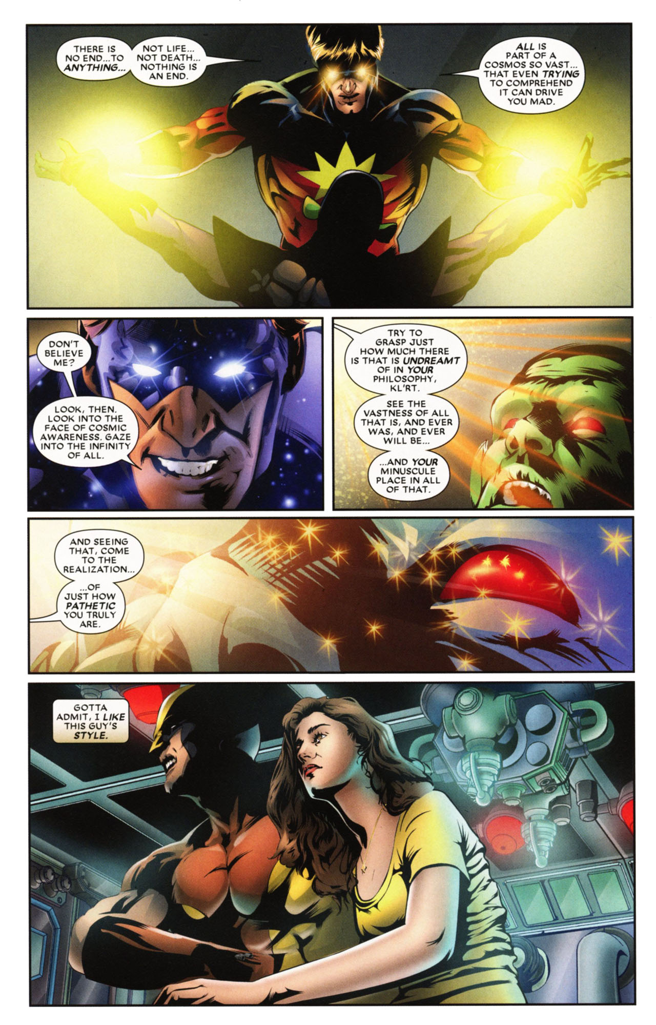 Read online Wolverine: First Class comic -  Issue #20 - 13