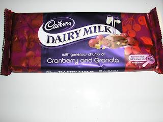 Dairy Milk Cranberry & Granola