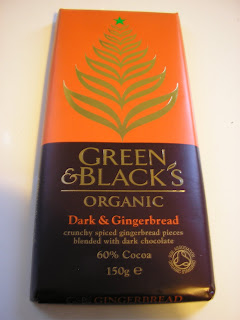 Green & Blacks: Dark & Gingerbread