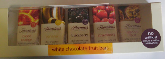 Thornton's White Chocolate Fruit Bars