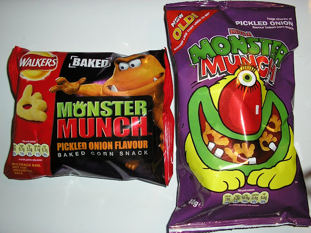 Monster Munch Baked vs Monster Munch Old