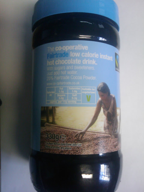 The Co-operative Fairtrade Low Calorie Hot Chocolate